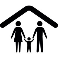 __manual fam family-under-a-ceiling-outline_318-44087